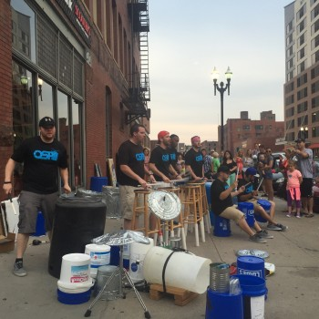 Omaha Street Percussion - Old Market
